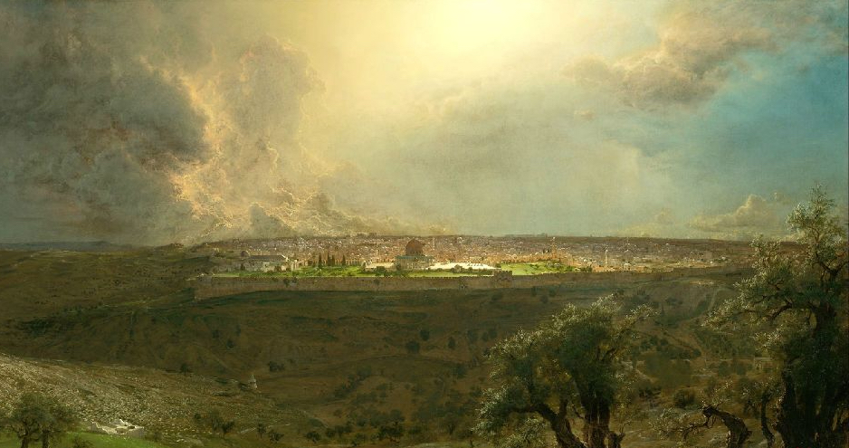 jerusalem from the mount of olives Frederic Edwin Church