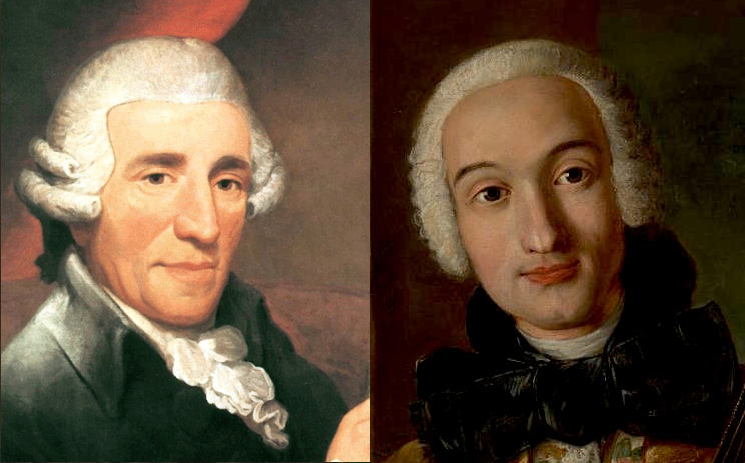 Boccherini and Haydn faces